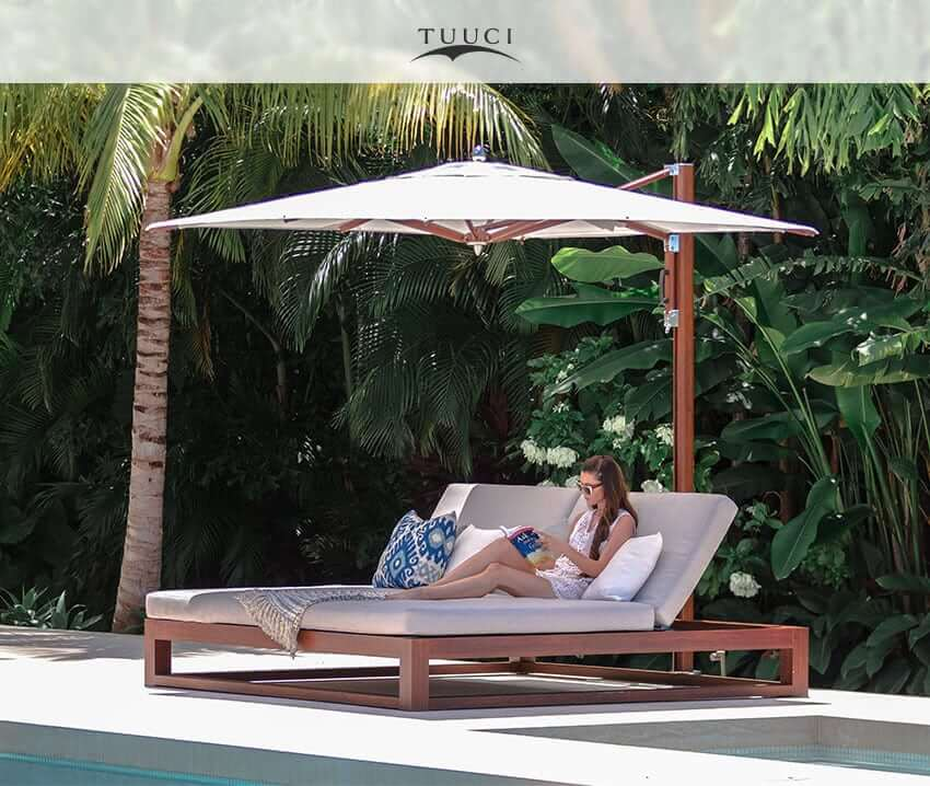 Get Ready For Summer With The Tuuci Equinox Double Chaise